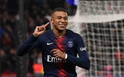 Ligue 1, Mbappè è il più giovane a segnare 50 gol