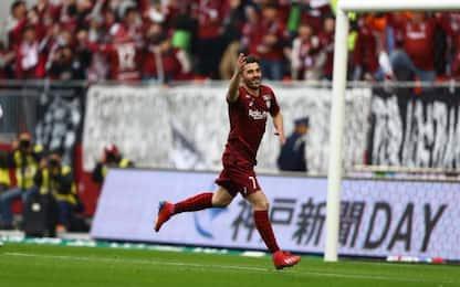 Villa, primo gol in Giappone contro l'amico Torres