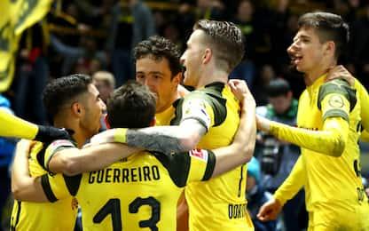 Bundesliga, i risultati: Borussia Dortmund ok