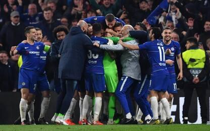 Il Chelsea è in finale: Sarri vince ai rigori