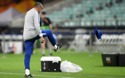 Lite Higuain-David Luiz, Sarri si infuria. VIDEO