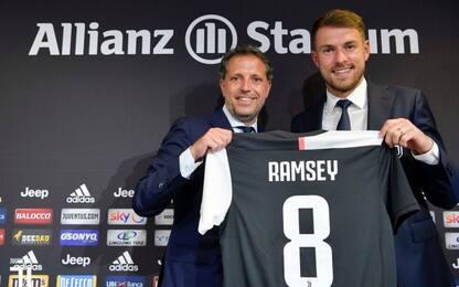"""Ramsey con la 8 di Marchisio: """"Juve, che sfida!"""""""