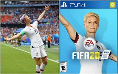 Rapinoe superstar: i fan la vogliono su Fifa 20