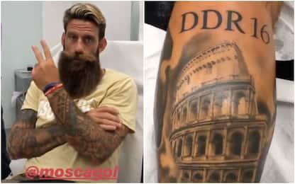 Moscardelli 'core de Roma': si tatua De Rossi