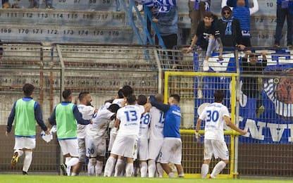 Coppa Italia, avanti V. Francavilla e Pro Vercelli