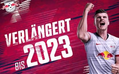 Lipsia, Werner rinnova fino al 2023