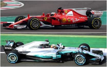 Formula 1: Ferrari vs Mercedes, il primo confronto