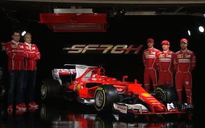 Ferrari 2017, la Rossa per sognare è la SF70 H