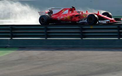 Kimi famelico, doma Verstappen: primo nei test
