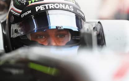 Test F1, il primo stop della Ferrari. Bottas vola