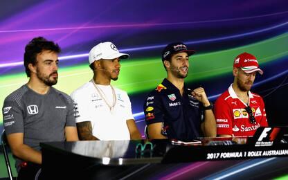 Formula 1, la conferenza dei piloti in Australia