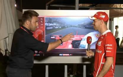 """Vettel spiega Vettel: """"Così le mie qualifiche"""""""