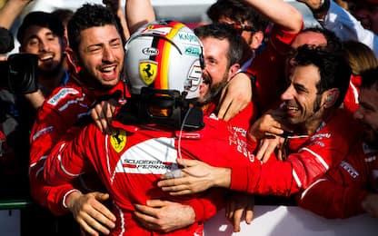 F1, Vettel è perfetto. Giovinazzi, che esordio!