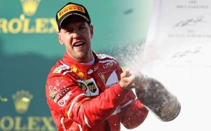 Ferrari, Vettel e quella statistica che fa sognare