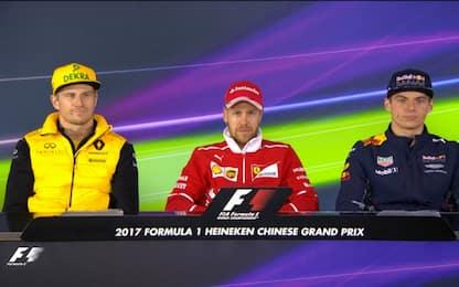 """Formula 1, GP Cina: Vettel: """"Il clima è cambiato"""""""