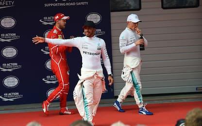 Shanghai, magia di Hamilton. Ma Vettel non scherza