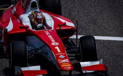 F2, qualifiche col botto: Leclerc vola, Fuoco c'è