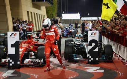 Vettel, bello aggressivo: la sua gara è da 10!