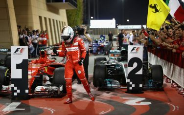 sebastian_vettel_podio_bahrain_getty