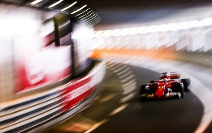 GP Monaco, fulmine Vettel: sue le seconde libere