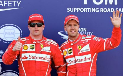 GP Monaco: Raikkonen in pole, 2° Vettel