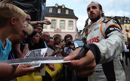 Kubica, sei anni dopo l'incidente torna su una F1