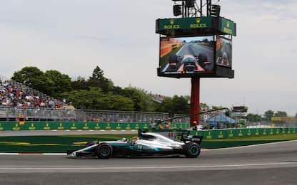 Formula 1, GP Canada: la griglia di partenza