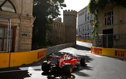 Formula 1, gli orari del GP di Baku in tv