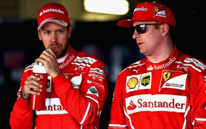 """Vettel: """"Prima fila ok, sarà lotta interessante"""""""