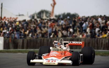 Gilles e la McLaren, quarant'anni fa a Silverstone