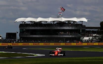 Formula 1, gli orari del GP di Silverstone