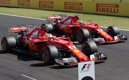 Ungheria: pole Vettel, poi Kimi. Prima fila Rossa!