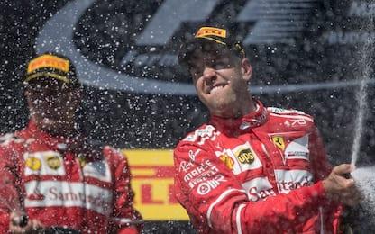Seb-Kimi da 10, Hamilton appannato: le pagelle