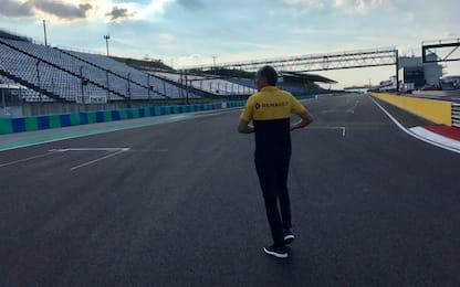 La F1 in Ungheria, i test: c'è Kubica in pista
