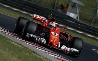 Test Budapest: svetta Vettel, 142 giri per Kubica
