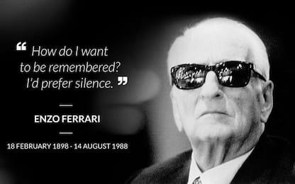 Enzo Ferrari, 29 anni senza il mito Drake