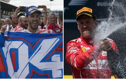 La Ferrari e Dovizioso: quanti sogni con le Rosse