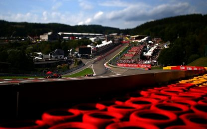 F1, gli orari del GP di Spa in esclusiva su Sky