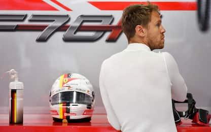 """Vettel: """"Giornata mista, dobbiamo migliorare"""""""