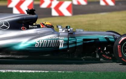 Test Pirelli, Hamilton e Bottas in pista al Ricard