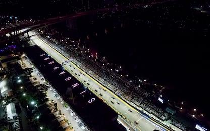 F1, programma e orari del GP di Singapore
