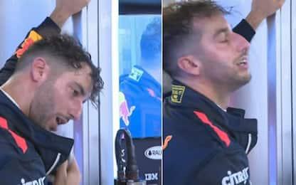 Ricciardo, il venerdì è un bagno di sudore