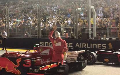"""Vettel si gode la pole: """"La Ferrari ha preso vita"""""""