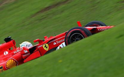 Vettel, maledetti 38 millesimi. Occhio a Bottas...