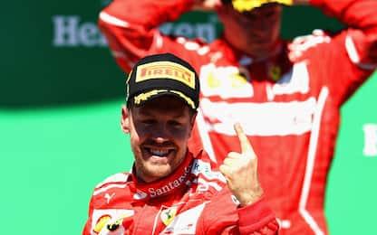 """Vettel: """"Un po' di sollievo dopo settimane dure"""""""