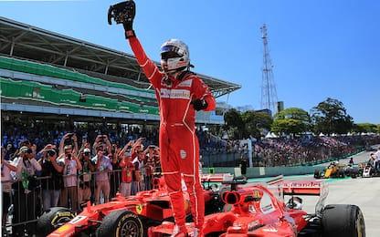 Brasile, vince Vettel! Super rimonta di Hamilton
