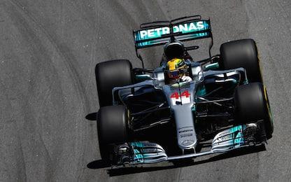 Hamilton dalla pit-lane al 4° posto: solito alieno