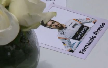 La griglia 2018 di Alonso: le Ferrari sono dietro