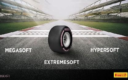 Pirelli, anche la Hypersoft tra le gomme F1 2018