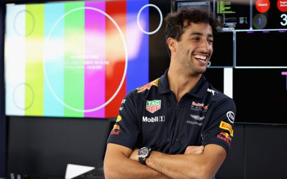 """Ricciardo, sempre un sorriso: """"Stagione positiva"""""""
